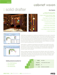Cabinet Vision Solid Drafter Data Sheet