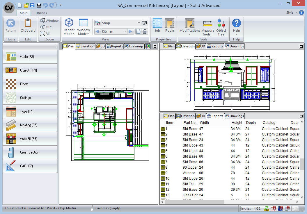 ... Software Cabinet Vision Solid Advanced CAD Drawing ...