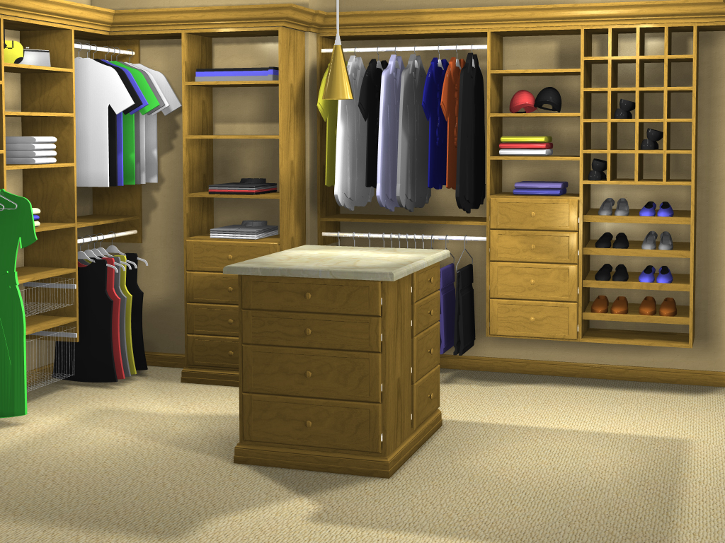 Cabinet Vision Solid Advanced For Closets Rendering ...