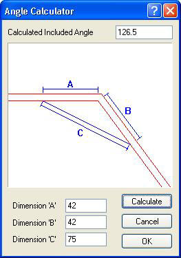 How to Calculate Unknown Wall Angle