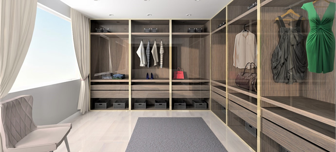 Closet and Storage software