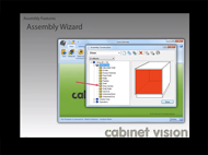 Cabinet Vision Version 8 Assembly Wizard and Assembly Level