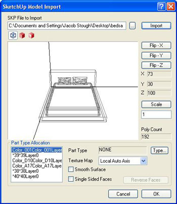 How to Import a Google SketchUp Image